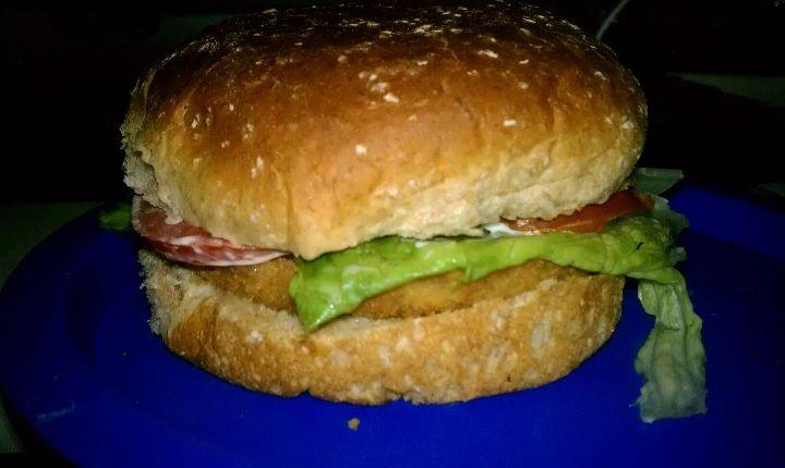 Veggie Chicken Sandwich